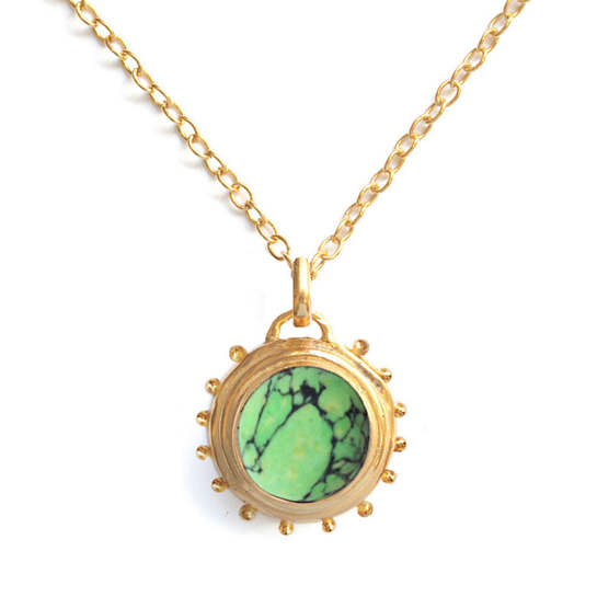 Everett Green Turquoise Necklace