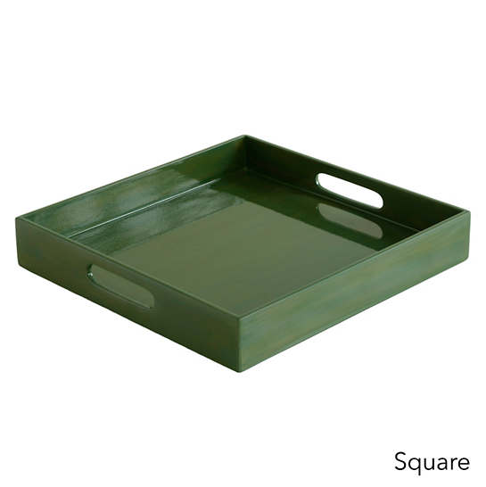Evergreen Lacquer Tray