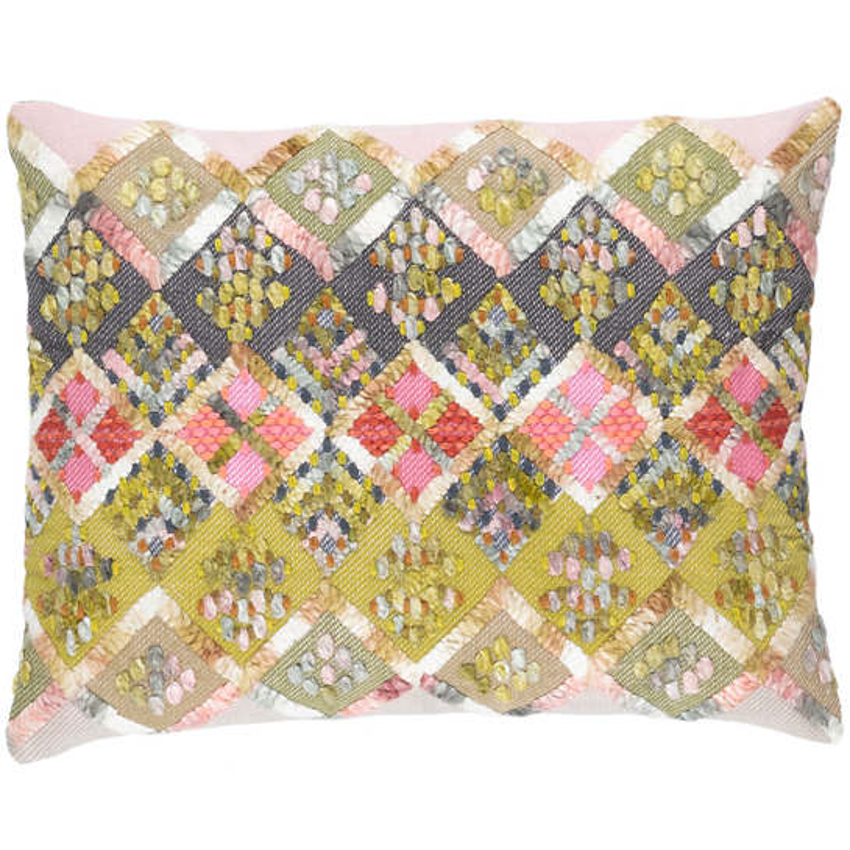 Ezra Embroidered  Decorative Pillow