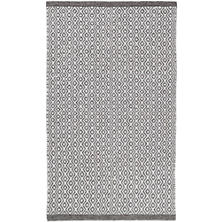 Facet Chenille Grey Indoor/Outdoor Rug