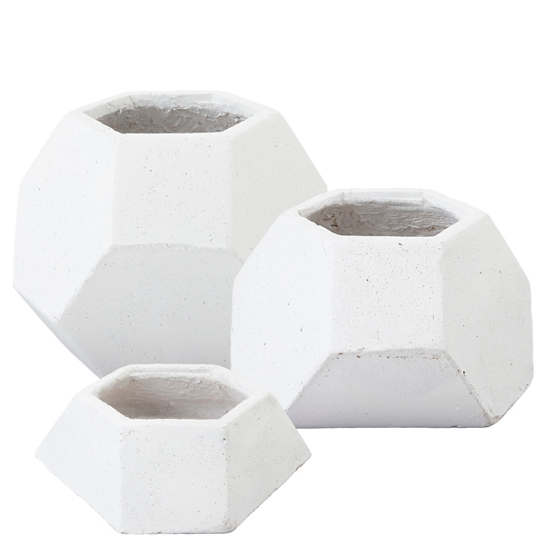 Facets Planter/Set Of 3
