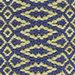 Fair Isle Rosemary/Ink Cotton Woven Rug