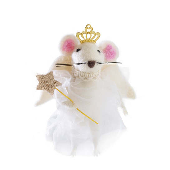 Fairy Mouse Ornament
