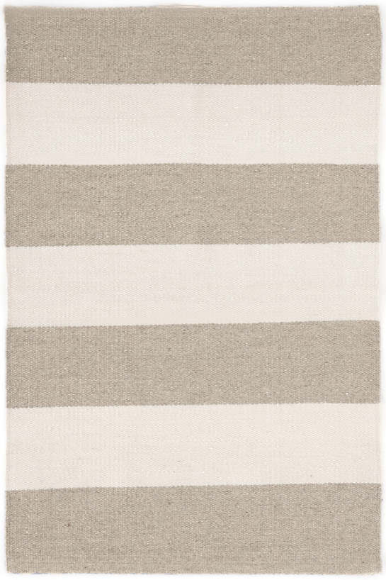 Falls Village Stripe Cement Indoor/Outdoor Rug