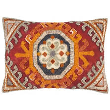 Farra Embroidered Decorative Pillow