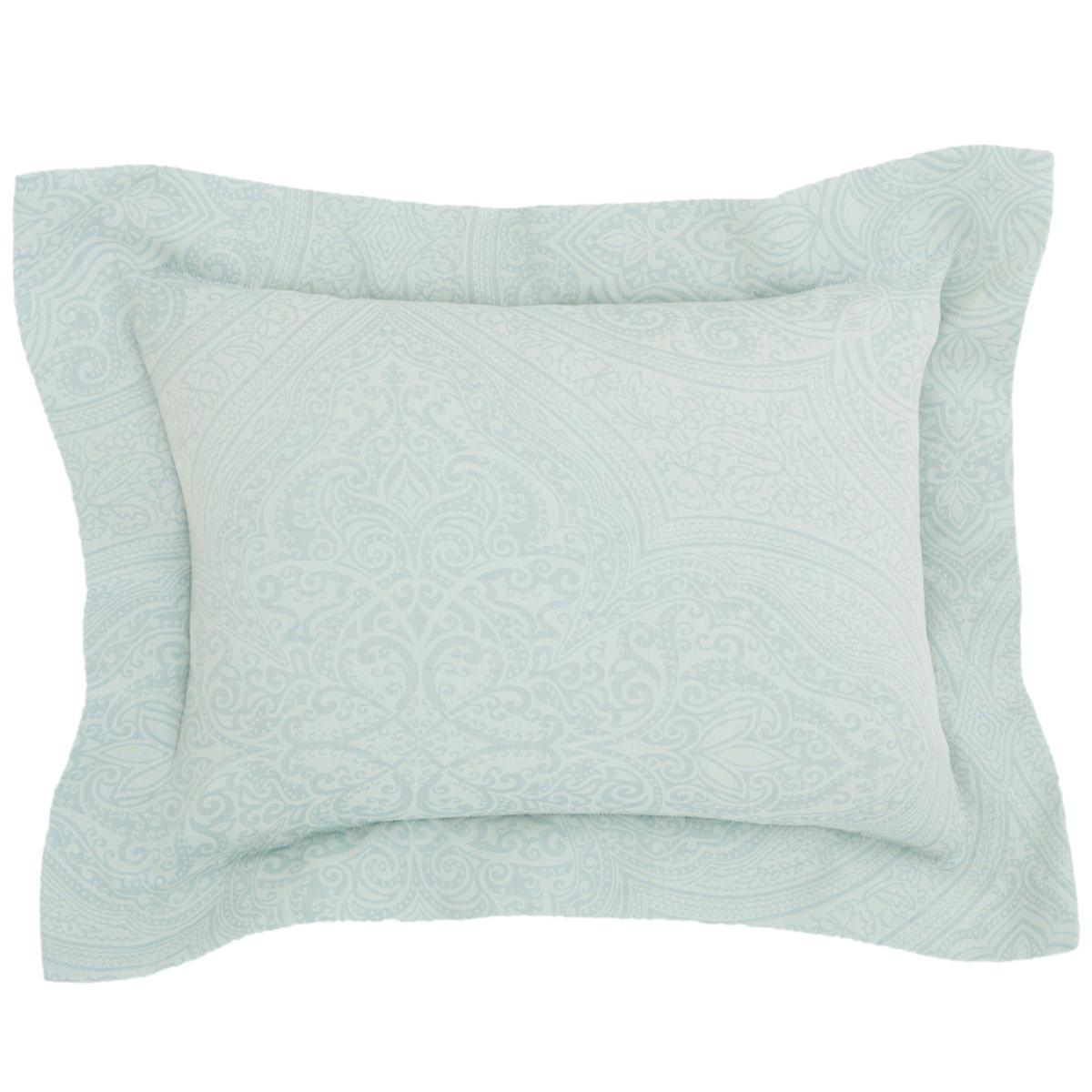 Firenze Pearl Blue Decorative Pillow
