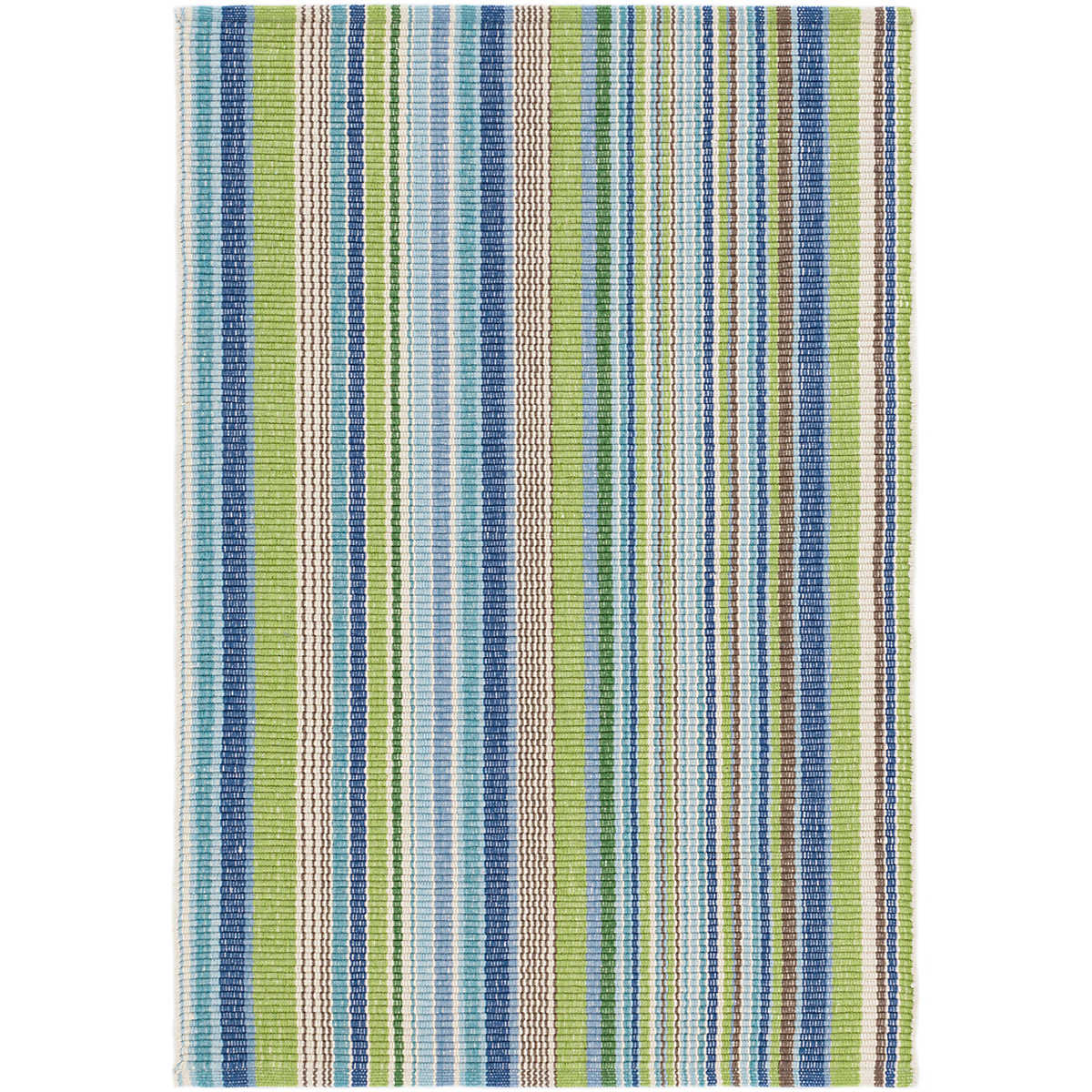 Fisher Ticking Indoor/Outdoor Rug | Dash & Albert