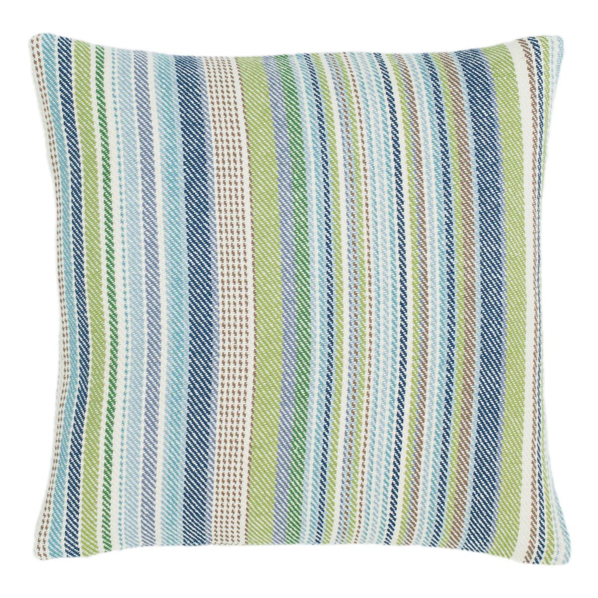 Fisher Ticking Woven Cotton Decorative Pillow Dash Amp Albert