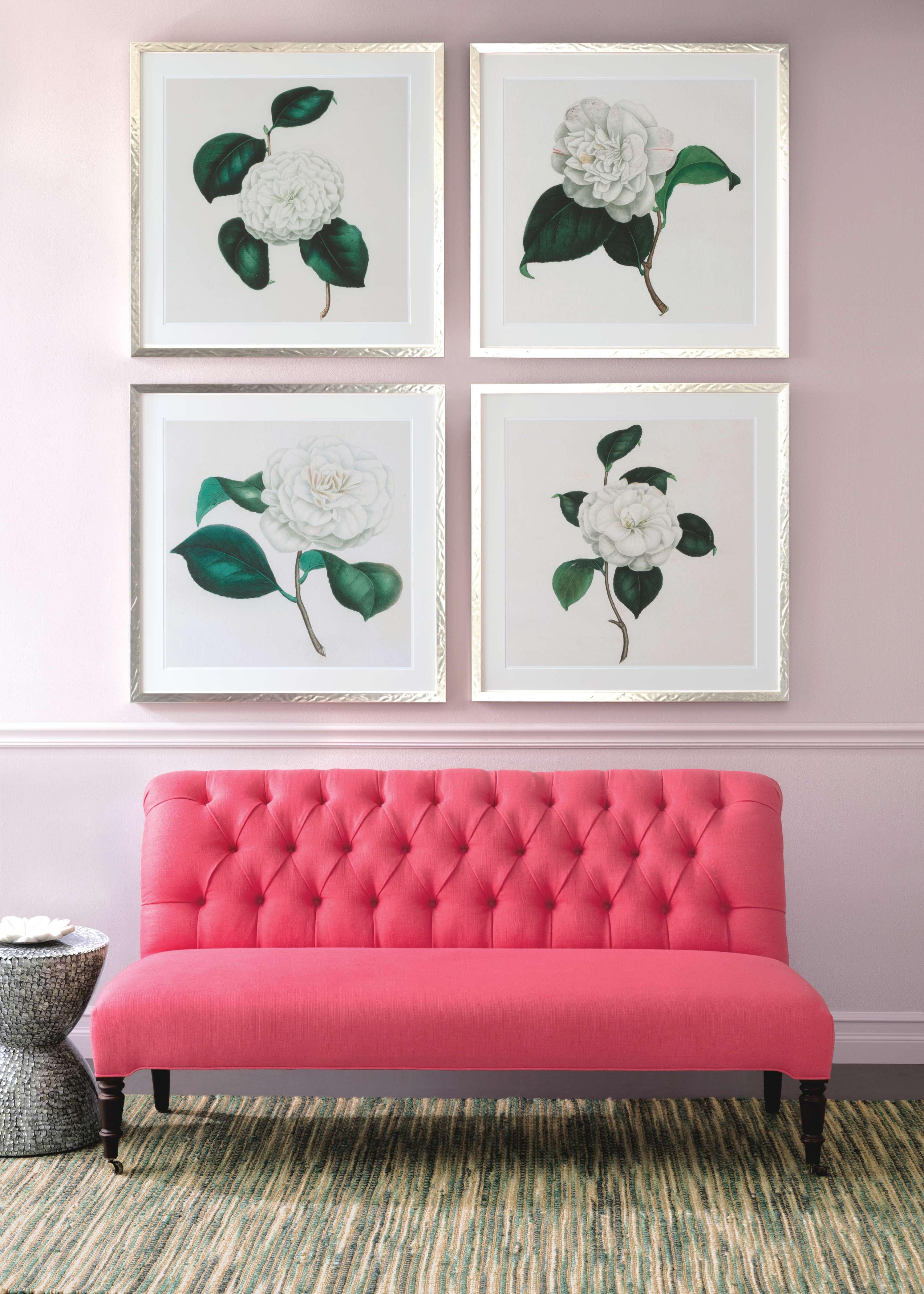 Floral Designer Bed 6