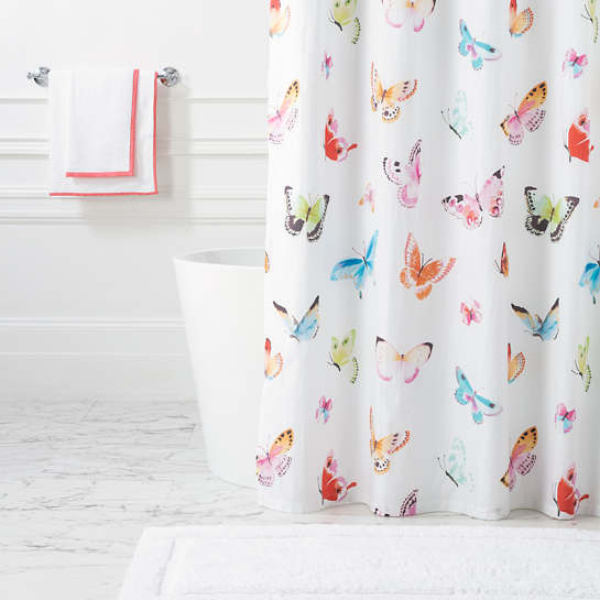 Flutter Shower Curtain