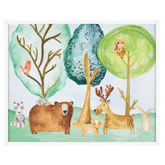 Forest Friends  Wall Art