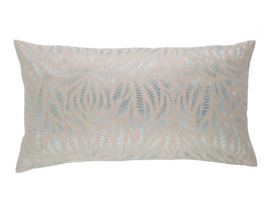 Fossil Embroidered Sky Decorative Pillow