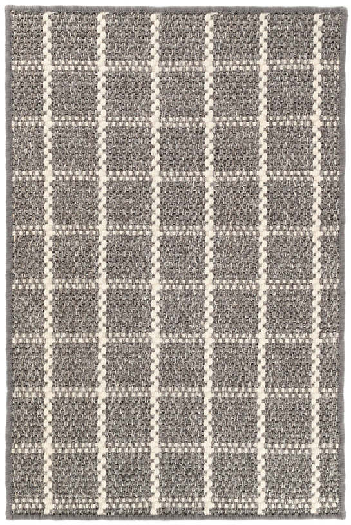Framework Grey Woven Sisal Rug