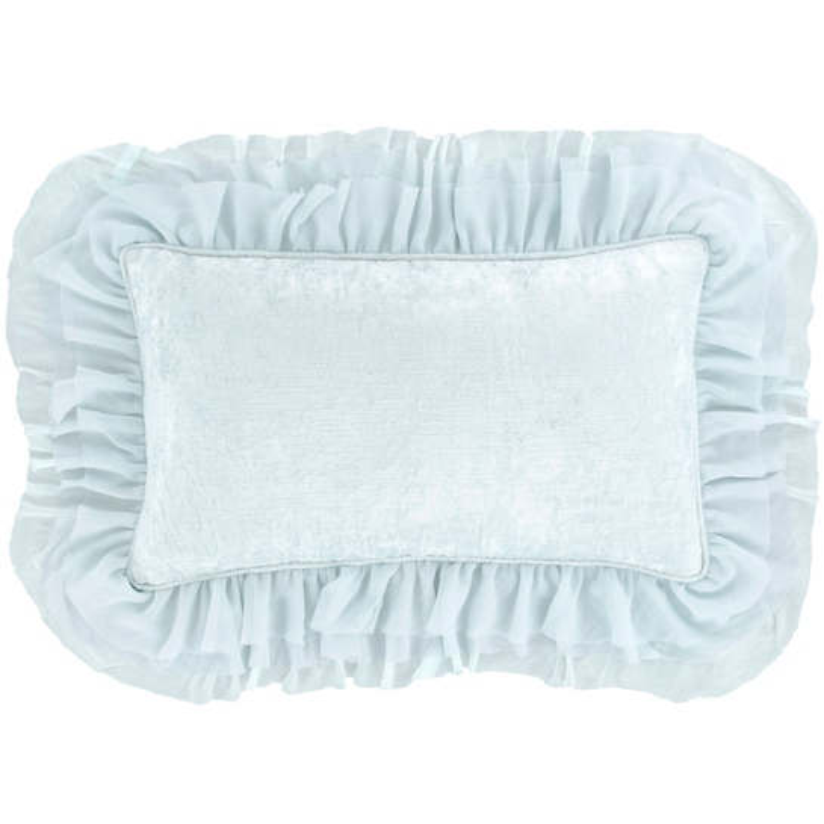 Francesca Velvet Sky Decorative Pillow