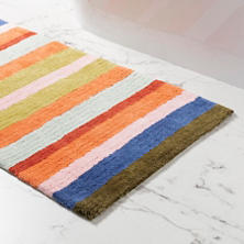 Franklin Stripe Bath Rug