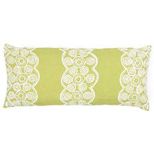 French Knot Citrus Decorative Pillow Double Boudoir