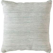 Mingled Light Blue Indoor/Outdoor Pillow