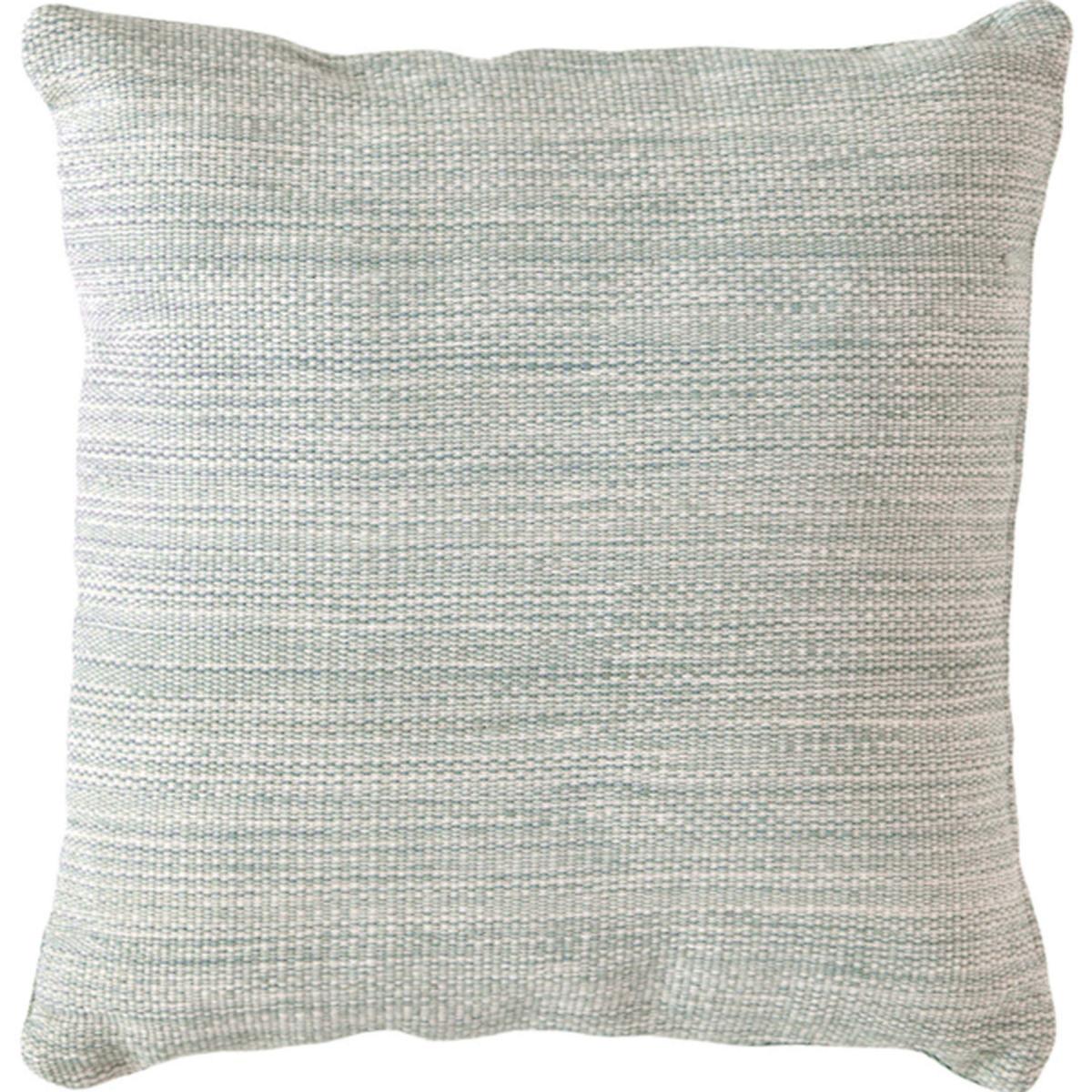Mingled Light Blue Indoor/Outdoor Pillow   Fresh American