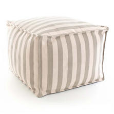 Trimaran Stripe Indoor Oudoor Pouf
