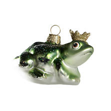 Royal Frog Ornament