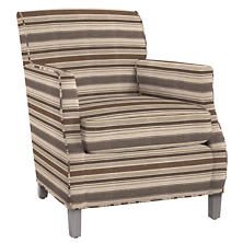 Appaloosa Stripe Ashford Chair