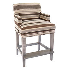 Appaloosa Stripe Windsor Counter Stool