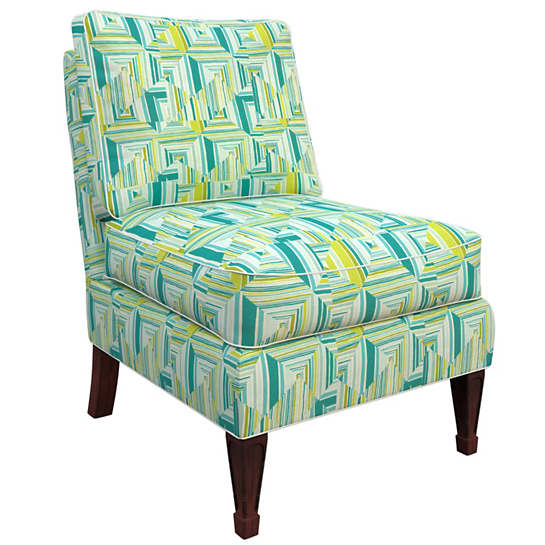 Geo Green Eldorado Chair