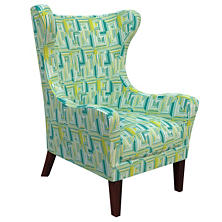 Geo Green Mirage Tobacco Chair