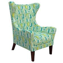 Geo Green Mirage Tobacco Chair