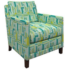 Geo Green Ridgefield Chair