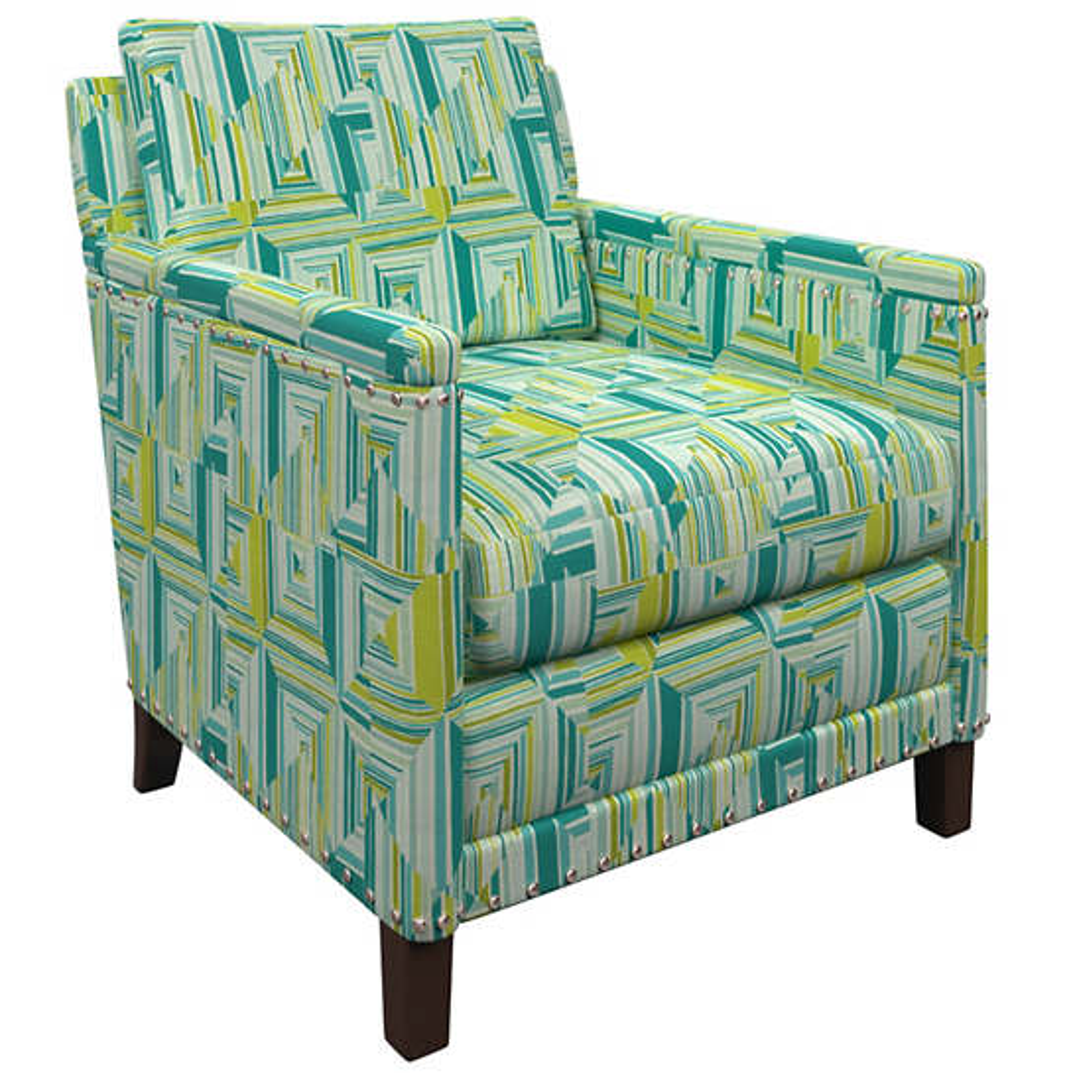 Geo Green Ridgefield Chair