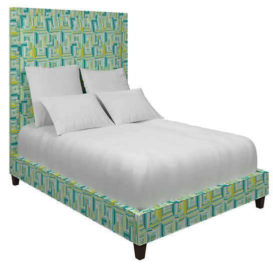 Geo Green Stonington Bed