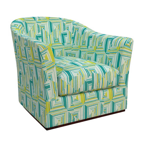 Geo Green Thunderbird Chair