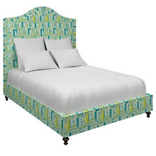 Geo Green Westport Bed