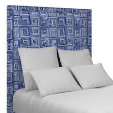 Geo Blue Stonington Headboard