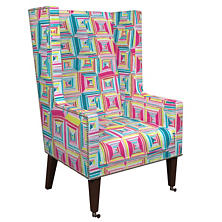 Geo Bright Neo-Wing Chair