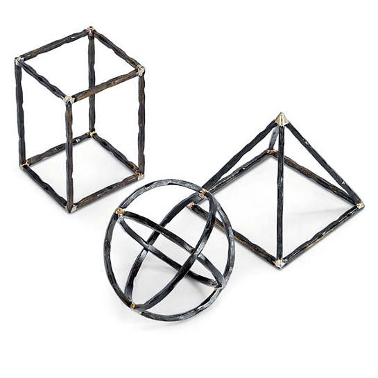 Geo Shapes/Set Of 3