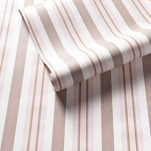 ecfc5989a9 Georgina Stripe Pink Wallpaper
