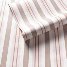 Georgina Stripe Pink Wallpaper