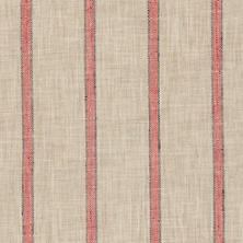 Glendale Stripe Brick/Brown Indoor/Outdoor Fabric