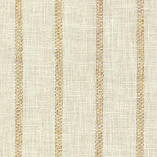 Glendale Stripe Gold/Natural Indoor/Outdoor Fabric