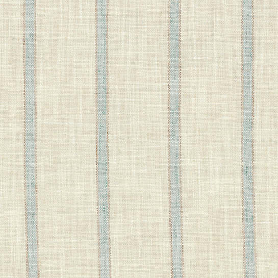 Glendale Stripe Light Blue/Natural Indoor/Outdoor Fabric