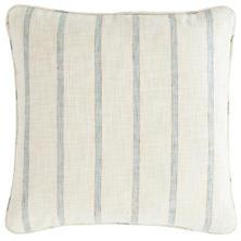 Glendale Stripe Light Blue/Natural Indoor/Outdoor Decorative Pillow