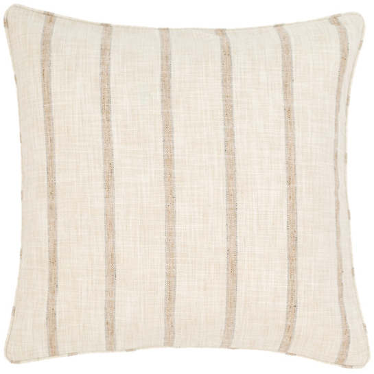 Glendale Stripe Natural/Grey Indoor/Outdoor Decorative Pillow