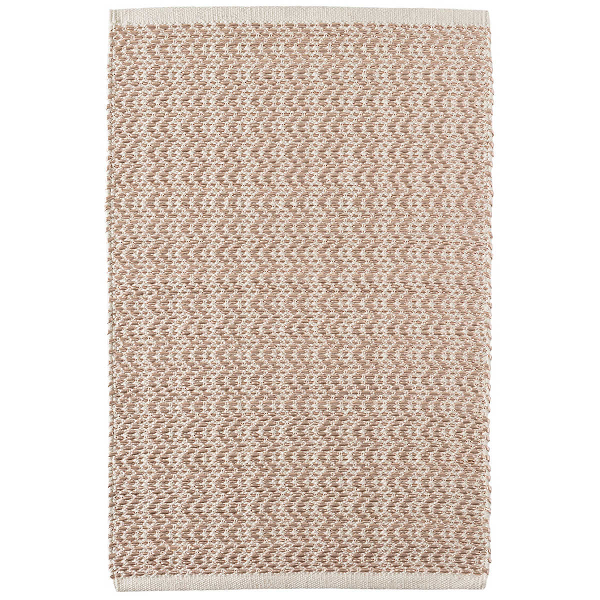 544f9f5dfade Now 40% Off! Glimmer Wave Rose Gold Woven Rug