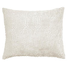 Gloss Velvet Grey Decorative Pillow
