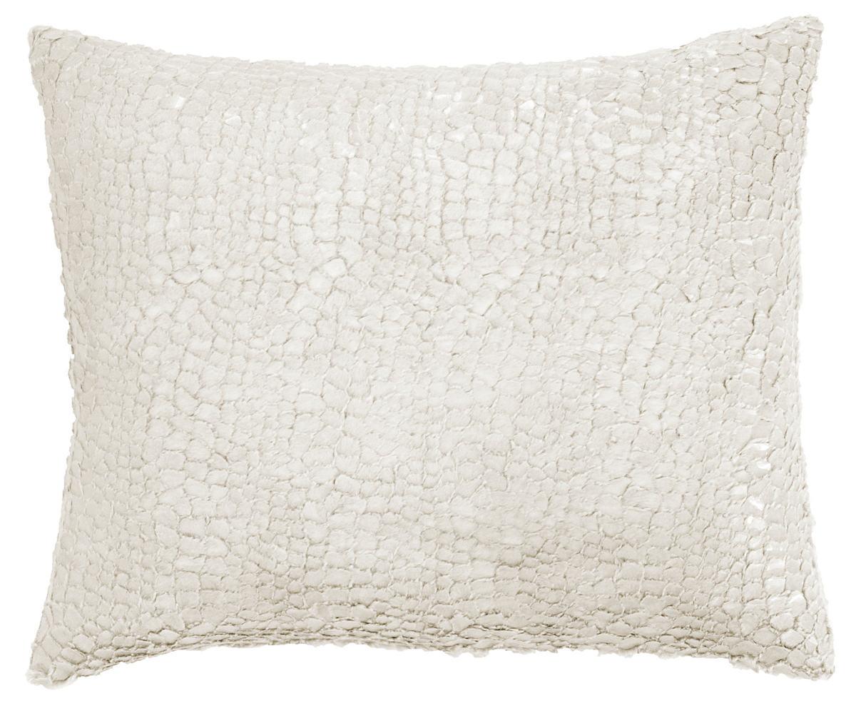 Gloss Velvet Grey Decorative Pillow