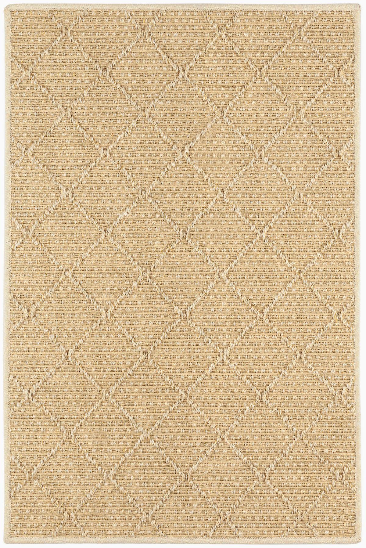 Gobi Diamond Sand Woven Sisal Rug