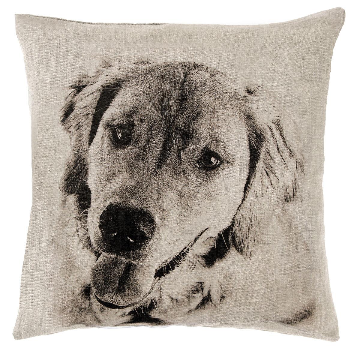 Golden Natural Decorative Pillow