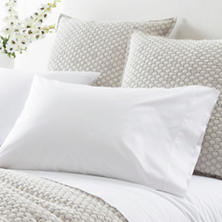 Grace Percale White Pillowcases